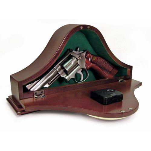 Mantle Gun Clock - Hides your guns and valuables