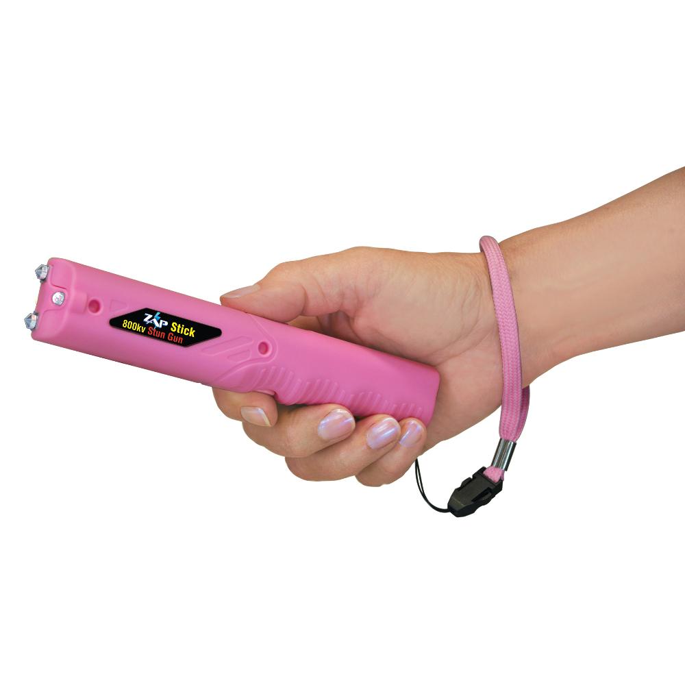 Zap Stick 800 000 Volt Stun Device With Flashlight