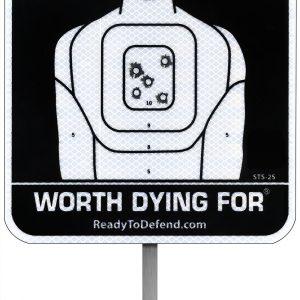 Home Defense Warning Sign