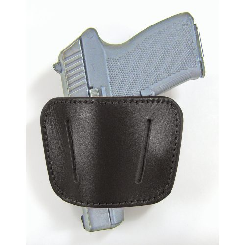 Homeland Holsters - side belt with Gun - large black