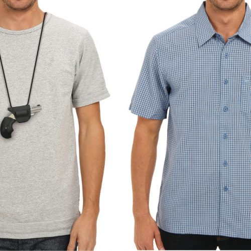 Undercover Holster - on shirts