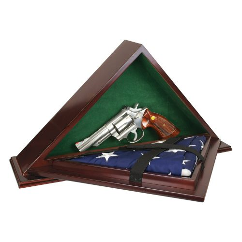 Patriot Flag Case with Concealment open