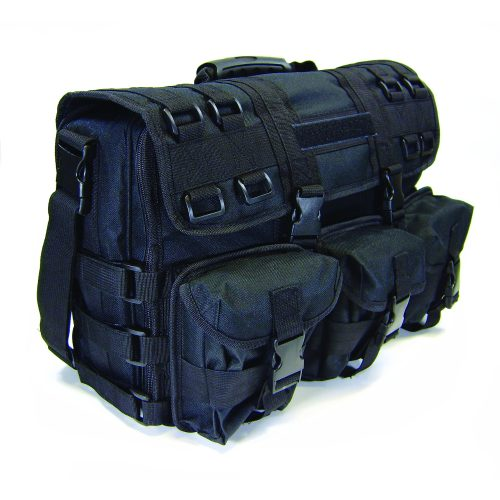 "Overnight bag - conceals handguns and holds 17"" laptop or tablet"