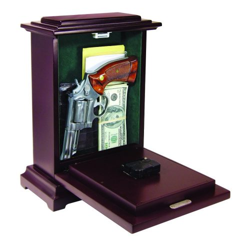 Tall Concealment Clock - Open
